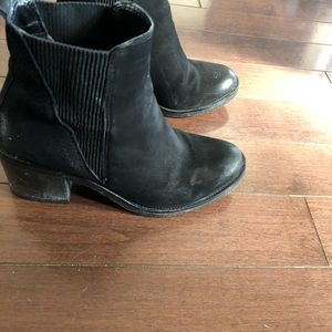 Also brand ankle boots black